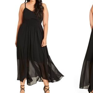 Stunning Nordstrom Black Maxi Dress